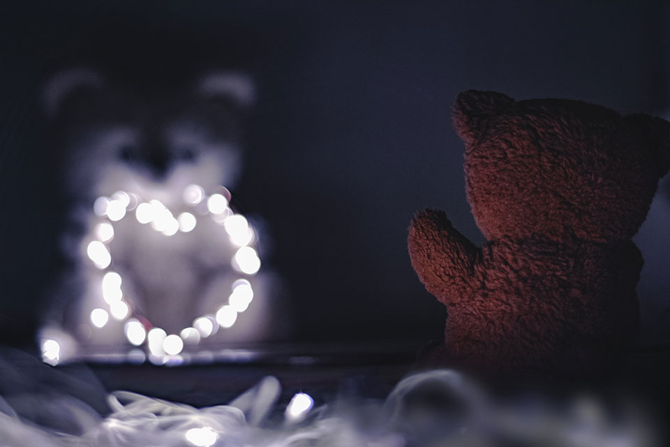 Bokeh with fairy lights