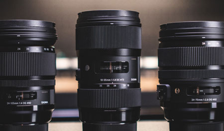 Which camera lens should you use?